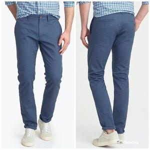 [J. Crew] Slim-fit Flex Khaki Pant Blue